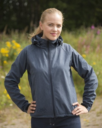 W-Ridejakke Denim softshell HC